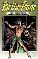 Bettie Page: Queen of the Nile #2