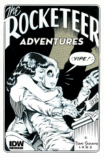 Rocketeer Adventures #4 - B&W Incentive