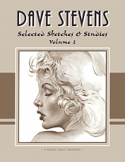 Dave Stevens - Selected Sketches & Studies Volume 1