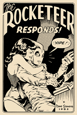 The Rocketeer Responds! Postcard